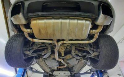 Volkswagen TOUAREG 3.0D — Stage2 📈до 335лс/650Нм, программно убрали EGR, установили downpipe, сделали выхлопную систему на заслонках