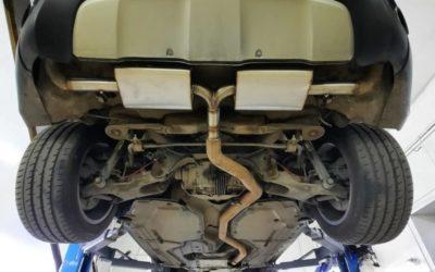 Доработка выхлопной системы автомобиля BMW X6