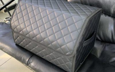 Пошив чемоданчика с нестандартной перегородкой для багажника Kia Ceed