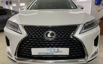 Lexus RX300 — полировка кузова, бронирование полиуретановой пленкой, нанесение керамики, установка автосигнализации и тонировка стекол