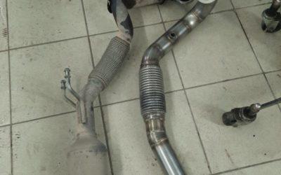 Volkswagen Jetta 1.4 TSI — изготовили и установили Downpipe, чип Stage 2 от AGP motorsport