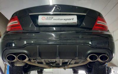 Mercedes w204 C180 1,6T — чип тюнинг от AGPMotorsport — Stage2 188лс/340Нм