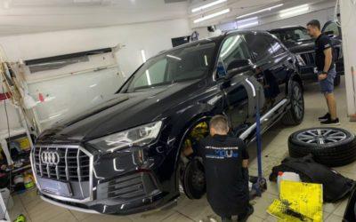 Audi Q7 — шумоизоляция автомобиля