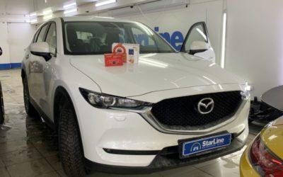 Mazda CX-5 — установили автосигнализацию StarLine A93 и камеру заднего вида