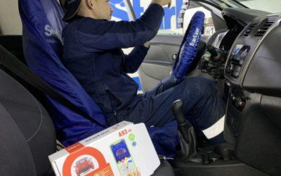 Renault Logan — установили охранную систему StarLine A93 V2