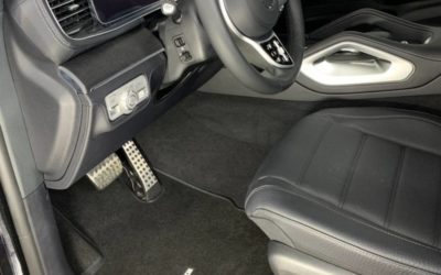 Пошив ковриков в салон автомобиля Mercedes GLS 450