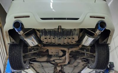 Honda Accord — замена стоковых банок, установка насадок
