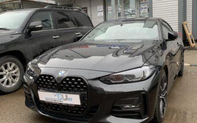BMW 420D — легкая полировка кузова и бронирование полиуретановой пленкой