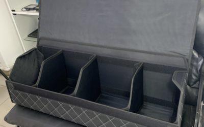 Находка для уезжающих на дачу и за город — пошив чемоданчиков в багажник автомобиля