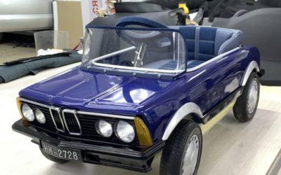 BMW 3 — преобразили автомобиль для юного гонщика