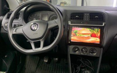 Volkswagen Polo — установка новой мультимедиа Android, парктроников, камеры заднего вида, автосигнализации StarLine A93