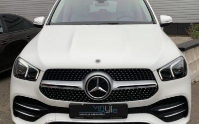 Mercedes GLE — бронирование матовой полиуретановой плёнкой Llumar