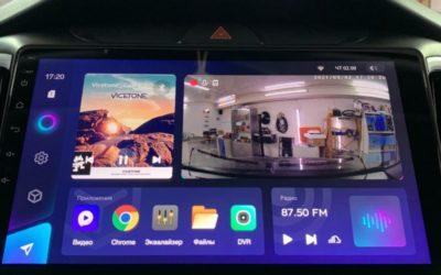 Hyundai Creta 2021 года — вместо штатного ГУ установили 10-дюймовую мультимедиа с максимальным объёмом памяти: 128 GB внутренней и 6 GB оперативной