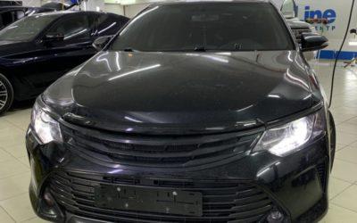 Toyota Camry 2016 года — заменили штатный ксенон на bi-led модули Aozoom A3 max