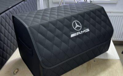 Стандартный чемоданчик с вышивкой в автомобиль Mercedes