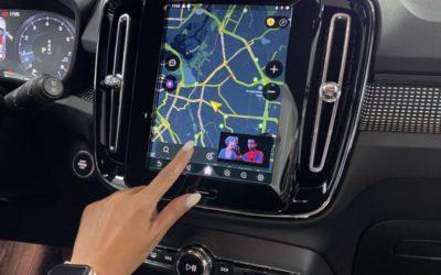 Volvo XC 40, 2021 — установка навигационного-мультимедийного блока на базе Android 10